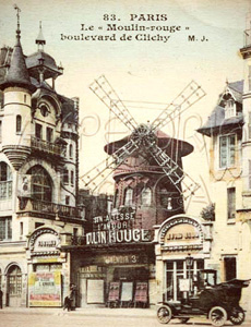 Moulin Rouge Bar Paris